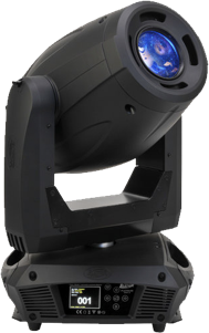Figure 7. Elation Pro Platinum LED moving spotlight.